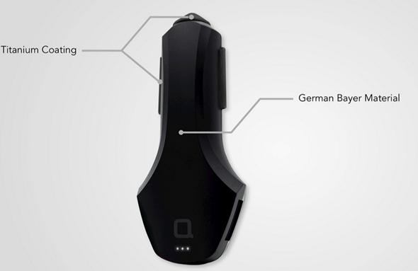 ZUS 智慧汽車定位器+USB充電器