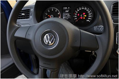 [試駕] 福斯 Volkswagen Polo 1.4 2012年款性能、油耗、安全系統體驗 image_6