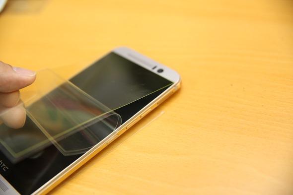 護眼必備 imos HTC One M9 專用濾藍光疏水疏油保護貼 IMG_8160