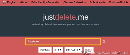 無用帳號洩隱私,Just Delete Me 告訴你怎麼刪 justdeleteme_search