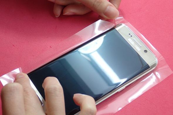[介紹] imos Galaxy S6 Edge 雙曲面螢幕滿版3D立體保護貼 P6220378