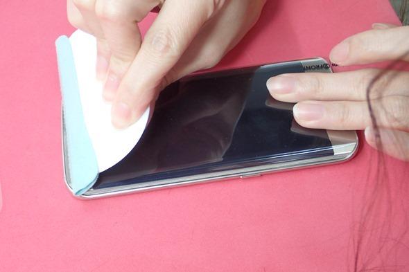 [介紹] imos Galaxy S6 Edge 雙曲面螢幕滿版3D立體保護貼 P6220397