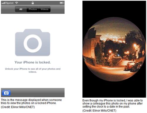 iOS5 發現漏洞,繞過鎖定畫面直接看相簿 ios5