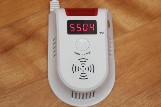 瓦斯燃氣警報器-021