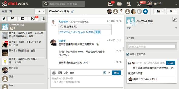 從「聊天」出發,有效提高會議及溝通效率的工作管理平台:ChatWork image_6