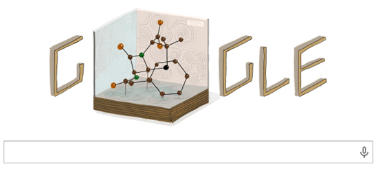 Dorothy Hodgkin google doodle