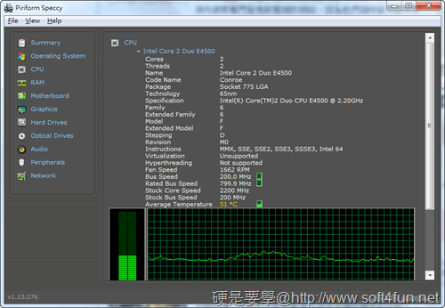 Piriform Speccy:監測硬體資訊、系統溫度、網路速度…等11項功能一套搞定 piriform-speccy-02