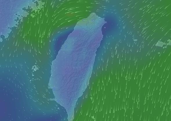 Windytv動態天氣圖,各種天氣、洋流資訊一看就懂 windyty02