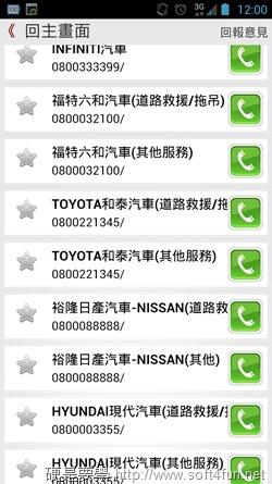 錢包遺失怎麼辦?Call Saver 迅速找到客服人員,讓你手指不打結 Screenshot_20130705000042
