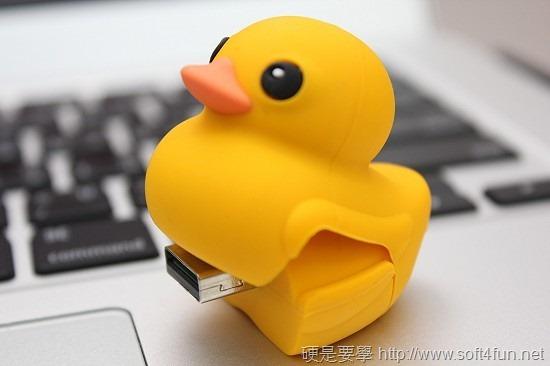 黃色小鴨造型隨身碟