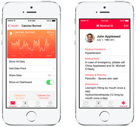 ios 8 新功能-健康-急救卡