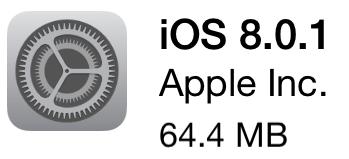 慘慘慘,iOS 8.0.1 更新後問題頻傳 (附回復方式) Snip20140925_28