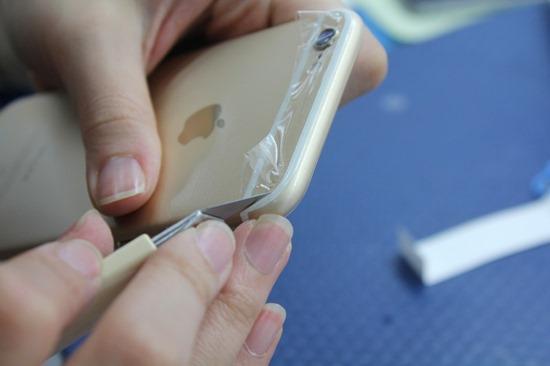 imos 我又來了!iPhone 6/6 Plus 全機包膜/保護貼施工 imosiphonecase34