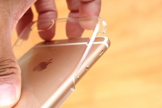 innerexile iPhone 6 Plus 自我修復保護殼 hydra plus,磨了一週竟無刮痕(透明色) iPhone6plus74