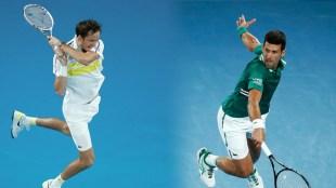 Novak Djokovic – Daniil Medvedev.  Watch online.  Live broadcast