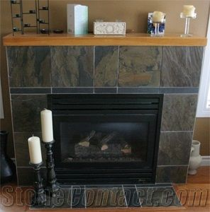 https www stonecontact com products 20245 green slate tile fireplace