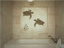 tile murals decorative tile bathroom