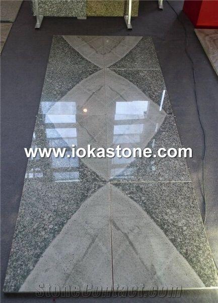 beautiful book match granite tile from