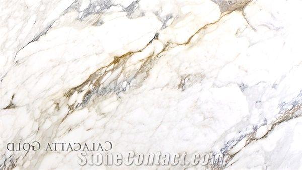 calacatta gold marble tiles slabs