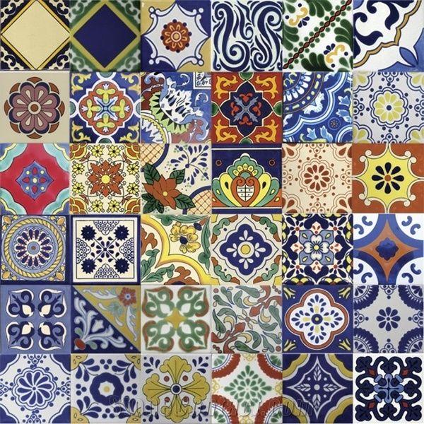 mexican tiles talavera ceramic