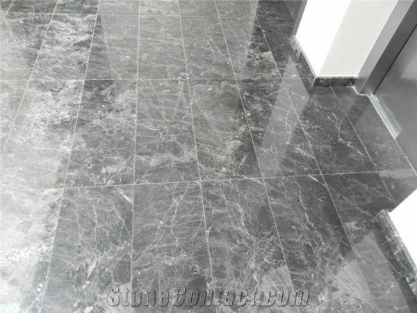 argos black marble floor tiles from