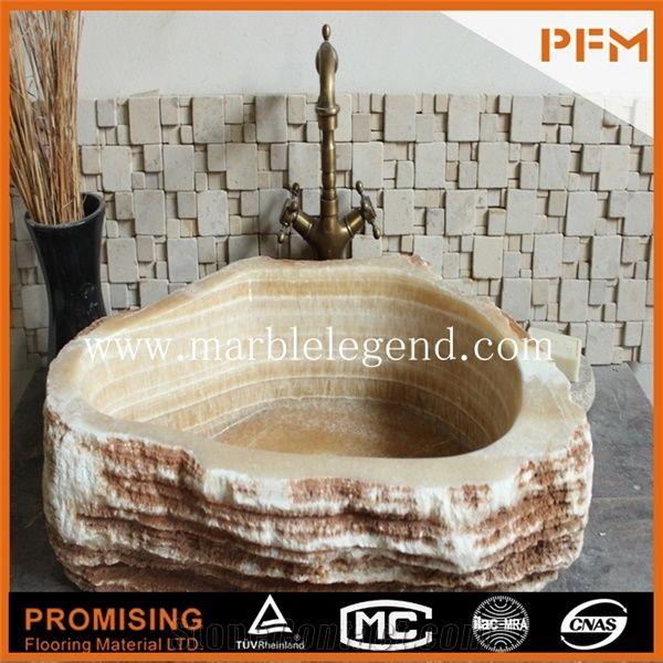 marble gold wash basin bathroom sink
