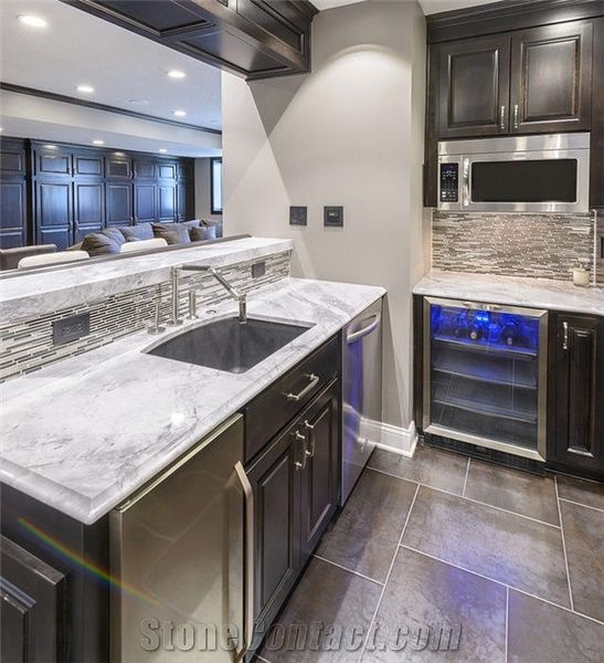 White Cabinets Dark Granite Backsplash