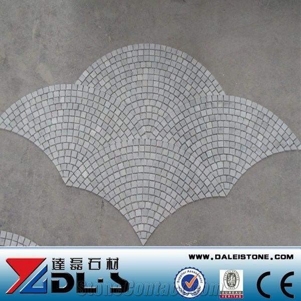 shower floor mesh backed mosaic tiles