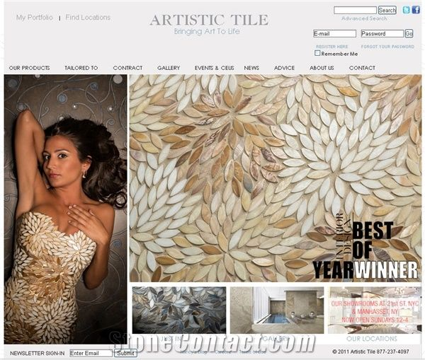 artistic tile inc from united states