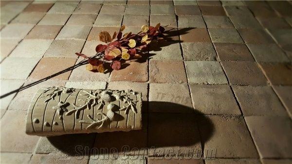 square terracotta tiles 15x15 cm 6x6
