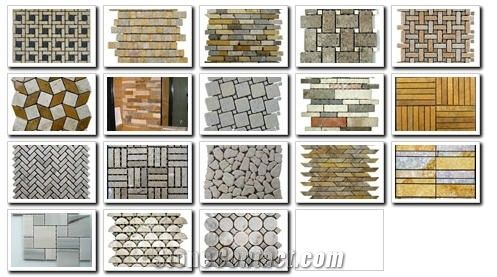 natural stone mosaic tiles from