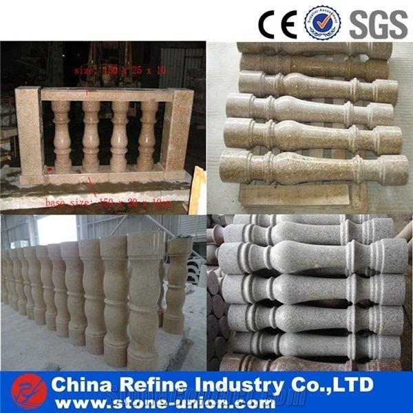 Granite Balustrade For Sale Cheap Granite Balustrade And | Outdoor Balustrades And Handrails | Timber | Railing | Verandah | Beautiful | Industrial Hand