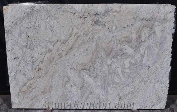Siena River Granite Slabs Tiles Siberian White Granite