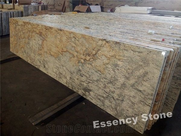 High Quality Golden Beach Sand Granite Countertops Sahara Diamond Gold
