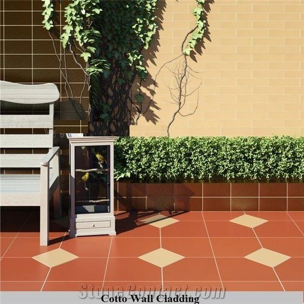 terracotta exterior floor tiles for
