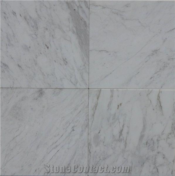 volakas white marble tile 12 x 12