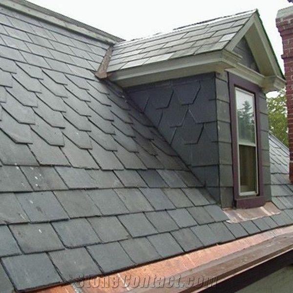 black slate roof tiles roof covering