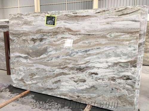 Fantasy Brown Marble Granite Slabs Tiles India Brown