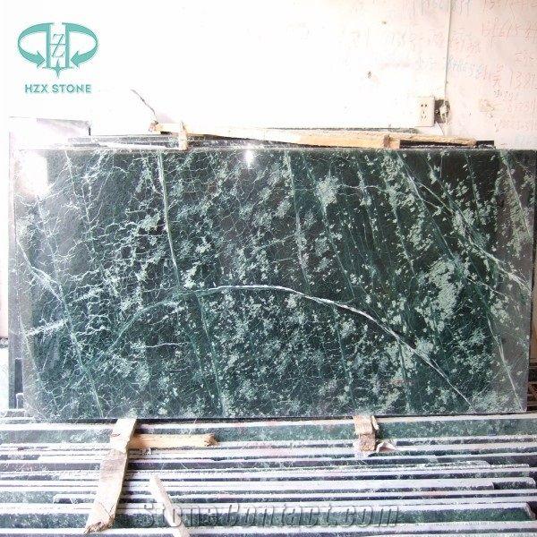 dark green marble tile slab verda