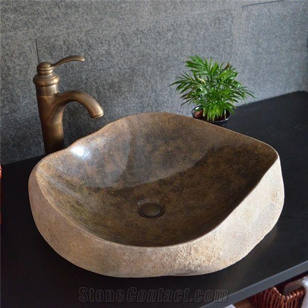 Antique Stone BasinIrregular SinkNatural Stone Basin Kitchen Sinks Bathroom Sinks Wash