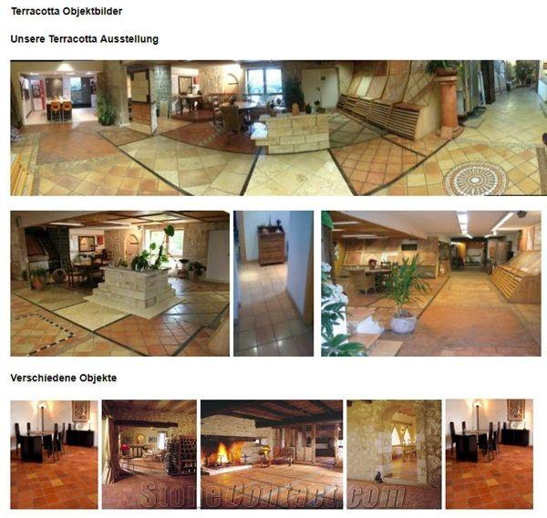 spanish terracotta floor tiles from