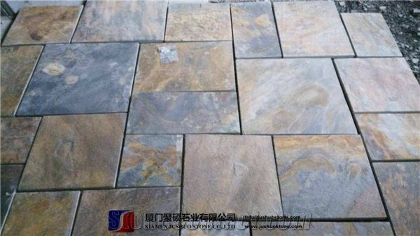 Copper Rusty Natural Slate Tiles Cheap Good Quality Chinese Stone From China Stonecontact Com