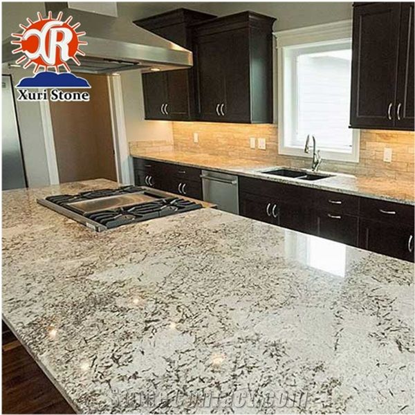 Alaska White Granite Countertop Prefab