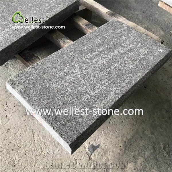 g684 black granite tile for floor with