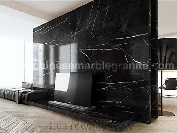 black marble white marble floor tile
