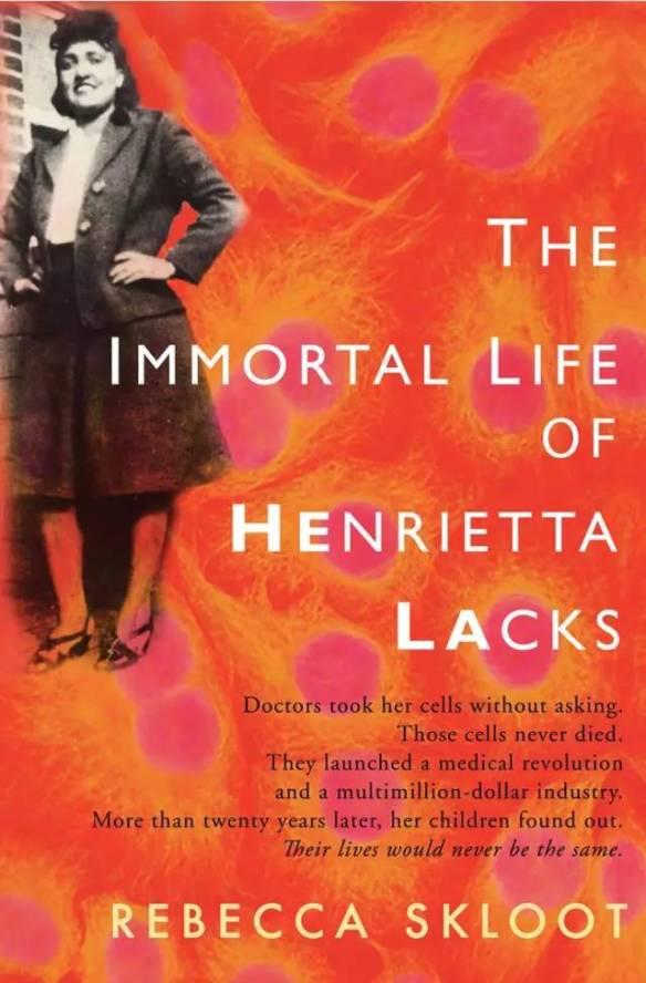 The Immortal Life of Henrietta Lacks Book Cover