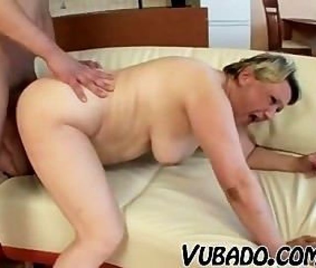 Old Fat Lady Fucks With Teen
