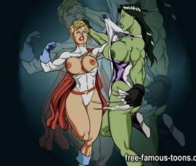Famous Lesbian Cartoon Girls