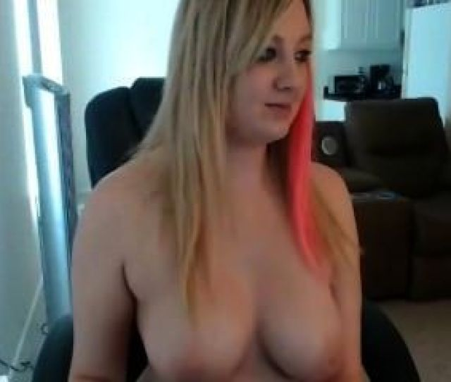 Busty Girl Getting Naked