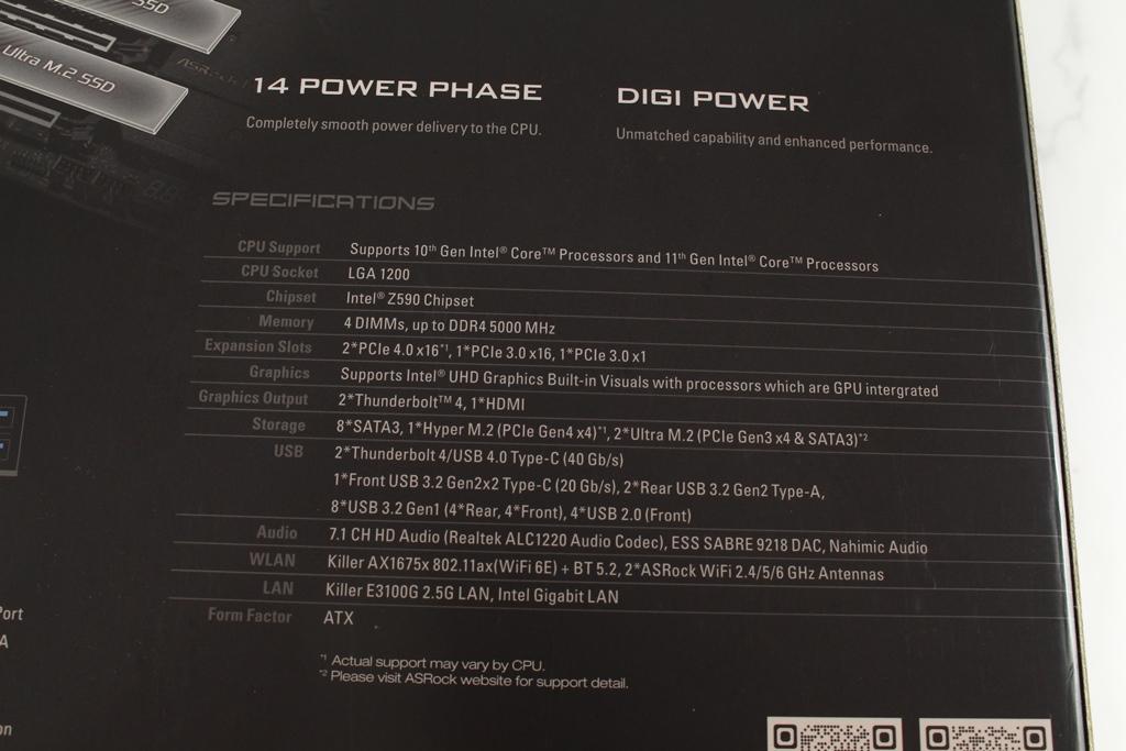華擎ASRock Z590 Taichi-太極齒輪轉動太炫技,搭載頂級用料,...3612